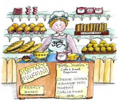 Bunty Muffin from The Mucklebury Sunstone