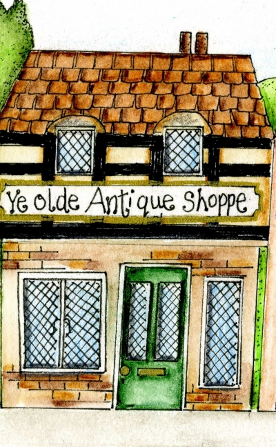 The Olde Antique Shoppe from The Mucklebury Sunstone