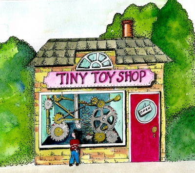 The Tiny Toy Shop from The Mucklebury Sunstone