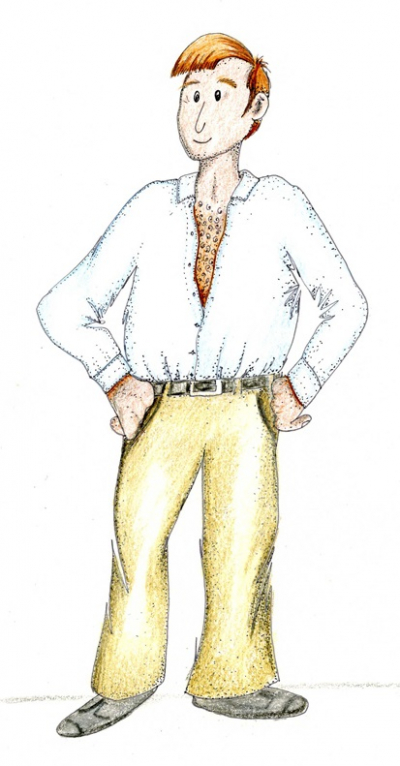Bruce Moriarty scrubbed up from A Rivalry Begins a Mucklebury Short Story
