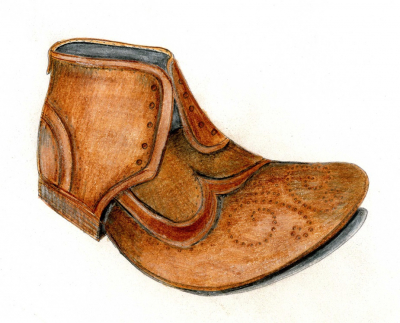 Moriarty's shoe from 'A Rivalry Begins' a Mucklebury Short Story